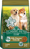 CLASSIC PETS DRY PUPPY FOOD MILK FLAVOR
