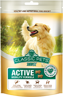CLASSIC PETS DOG TREATS-ACTIVE MOBILITY FORMULA