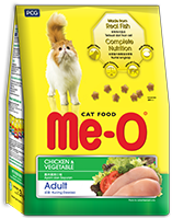 ME-O DRY CAT FOOD CHICKEN & VEGETABLE