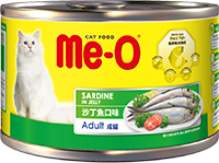 ME-O CANNED CAT FOOD-SARDINE IN JELLY
