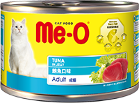ME-O CANNED CAT FOOD-TUNA IN JELLY