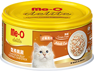 ME-O CANNED CAT FOOD - CHICKEN IN JELLY TOPPING CRAB STICK