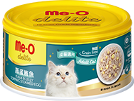 ME-O CANNED CAT FOOD - TUNA IN JELLY TOPPING STEAMED EGG