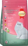 SMARTHEART DRY CAT FOOD - STERILIZED