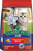 CLASSIC PETS DRY CAT FOOD CHICKEN FLAVOR