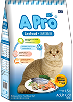 A PRO DRY CAT FOOD SEAFOOD