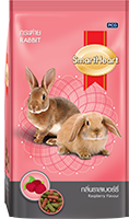 SMARTHEART RABBIT DIET DRY RABBIT FOOD RASPBERRY FLAVOR