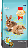 SMARTHEART RABBIT DIET DRY RABBIT FOOD- GRAIN & VEGETABLES