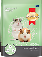 SMARTHEART HAMSTER FOOD COMPLETE AND BALANCED FORMULA